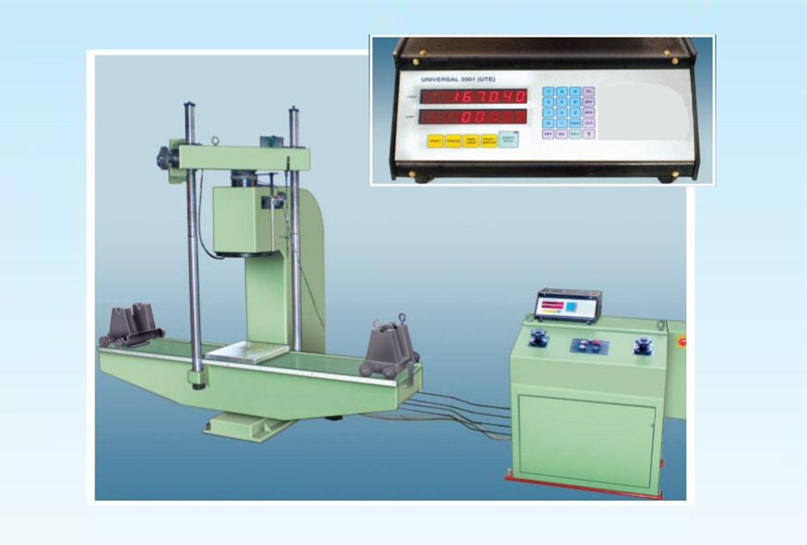 Leaf Spring Testing Machines / Laminated Spring Testing Machines