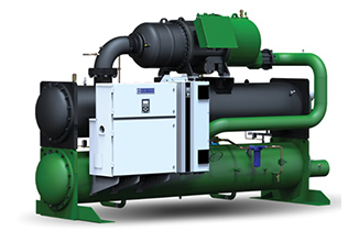 Water Cooled Screw Chillers with Variable Frequency Drives